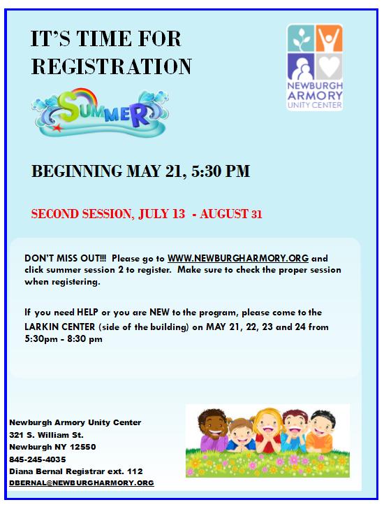 Summer 2019 session 2 reg flyer