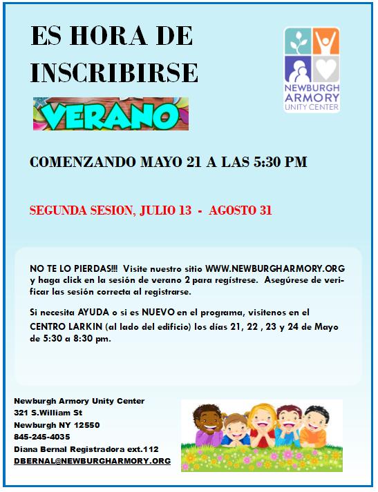 Summer 2019 session 2 spanish reg flyer